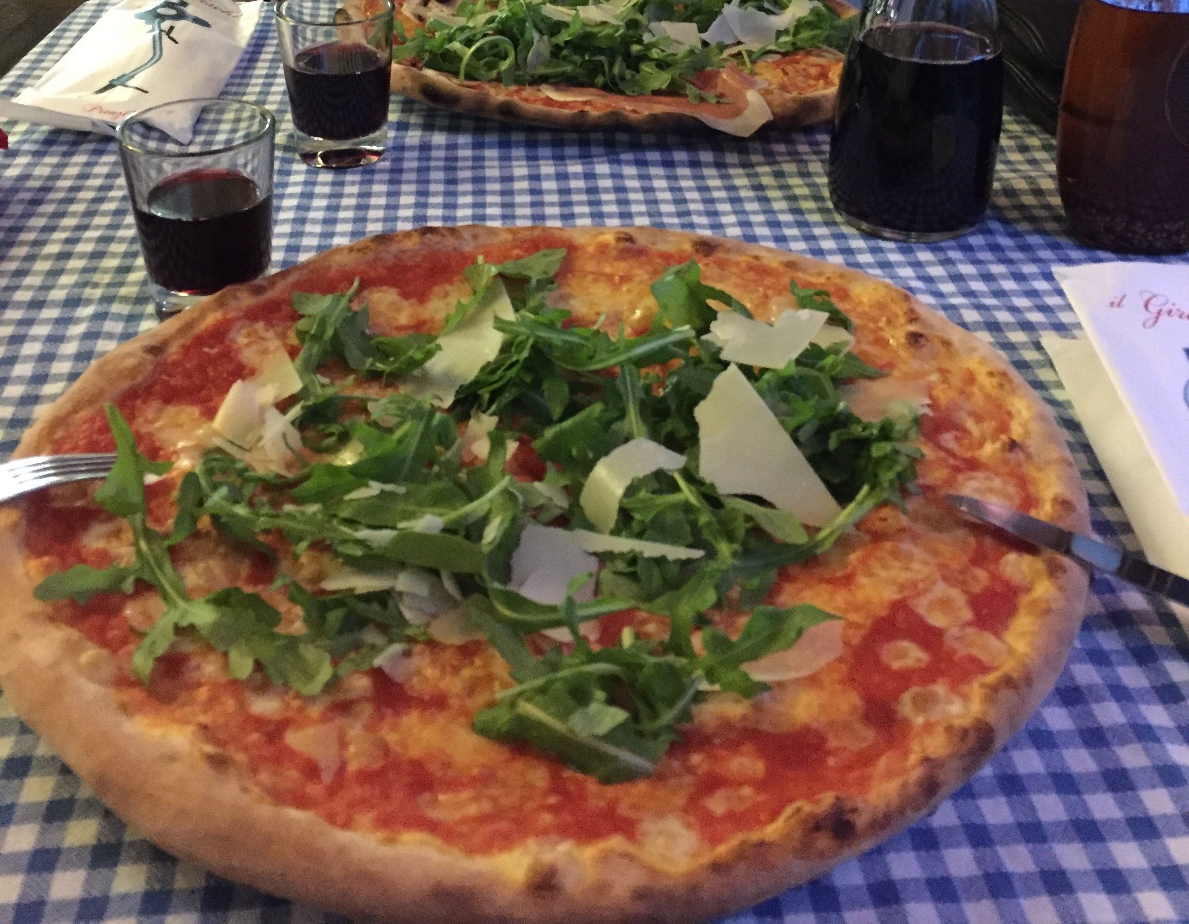 Pizza i Berlin